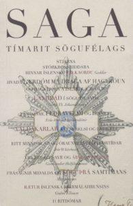 Saga: Tímarit Sögufélags 2009 XLVII: II