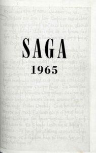 Saga: Tímarit Sögufélags 1965-1967 V: I
