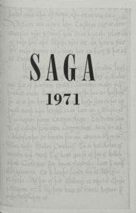 Saga: Tímarit Sögufélags 1971 IX