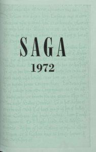Saga: Tímarit Sögufélags 1972 X
