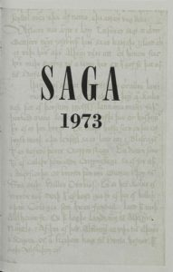 Saga: Tímarit Sögufélags 1973 XI