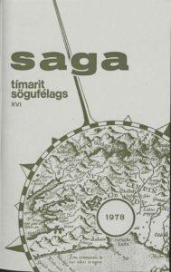 Saga: Tímarit Sögufélags 1978 XVI
