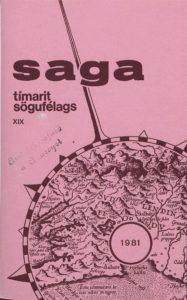 Saga: Tímarit Sögufélags 1981 XIX