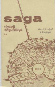 Saga: Tímarit Sögufélags 1982 XX