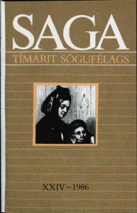 Saga: Tímarit Sögufélags 1986 XXIV