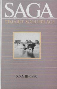 Saga: Tímarit Sögufélags 1990 XXVIII