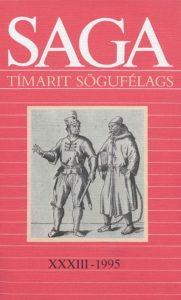 Saga: Tímarit Sögufélags 1995 XXXIII