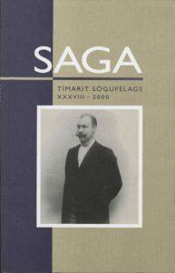 Saga: Tímarit Sögufélags 2000 XXXVIII