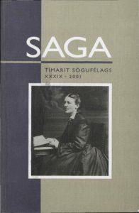 Saga: Tímarit Sögufélags 2001 XXXIX