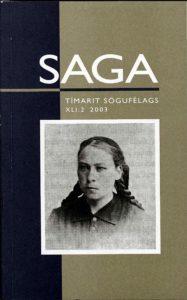 Saga: Tímarit Sögufélags 2003 XLI: II
